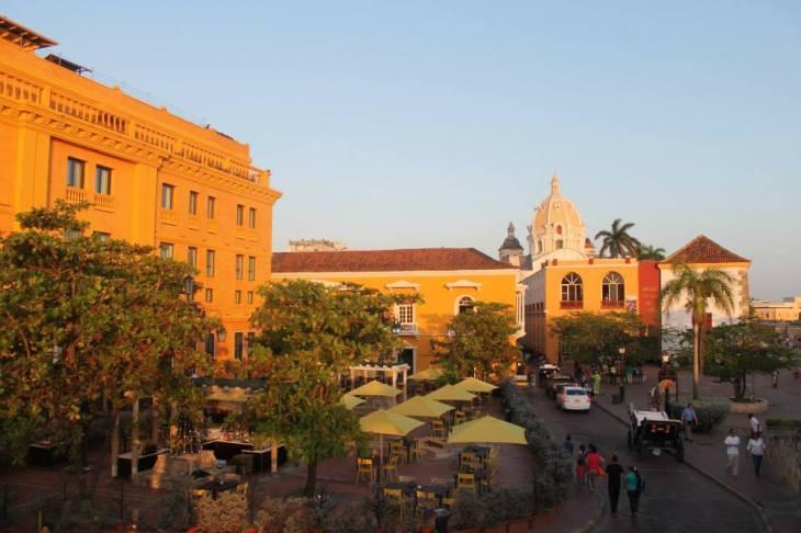 Colombia-Cartagena-Plaza-Santa-Teresa