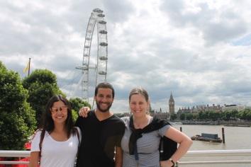 Londres-UK-London-Eye-Familia