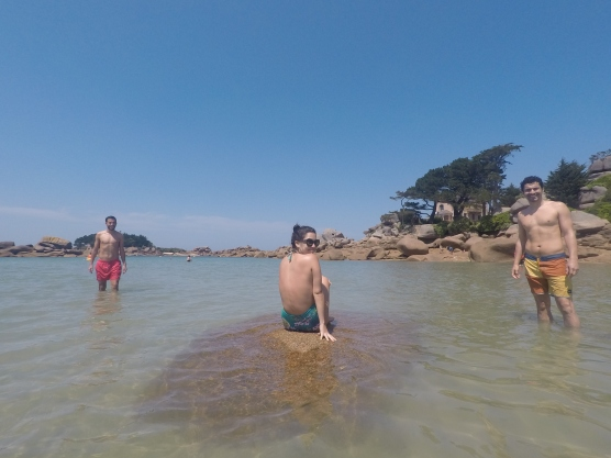 Francia-Perros-Guirec-Playa