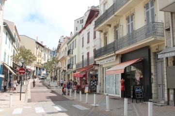 Francia-Biarritz-Calles