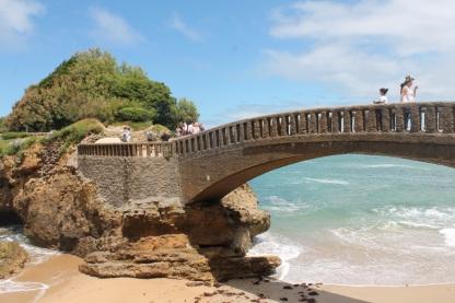 Francia-Biarritz-Puente