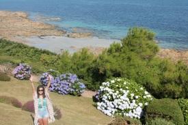 Francia-Perros-Guirec-Hortensias-Mar
