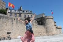 Francia-Mont-Saint-Michel-Salto