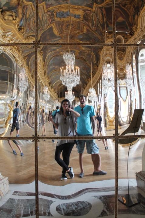 Francia-Versalles-Espejos