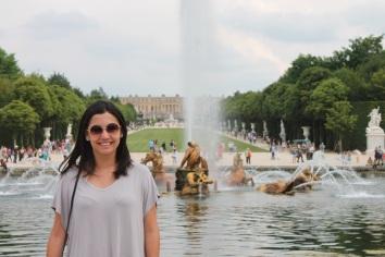 Francia-Versalles-Fuente